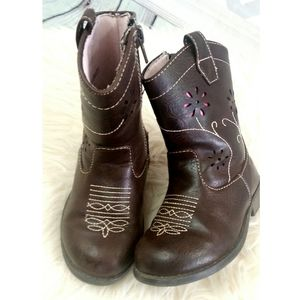 OKIE DOKIE Cowgirl Toddlee Girl Boots Southwest